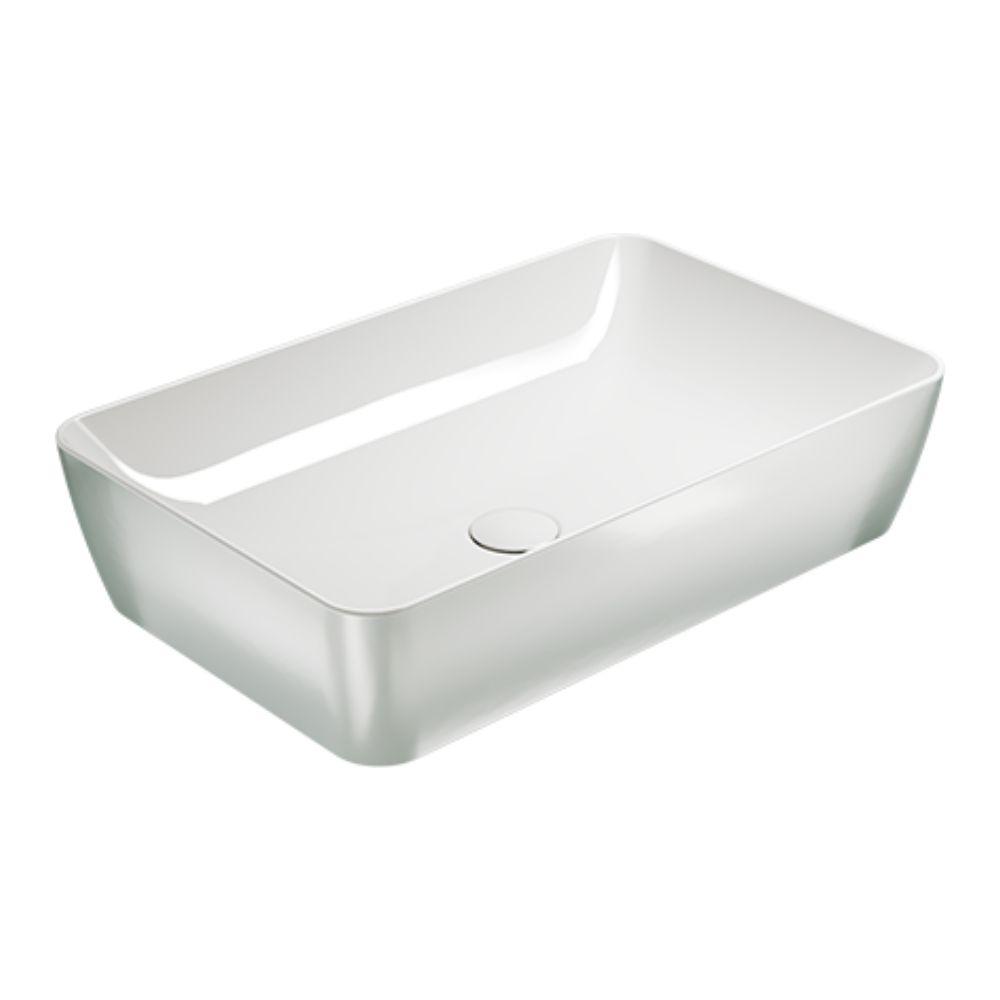 Nadgradni lavabo Sand, 50×38 cm, platinasto-beli, GSI