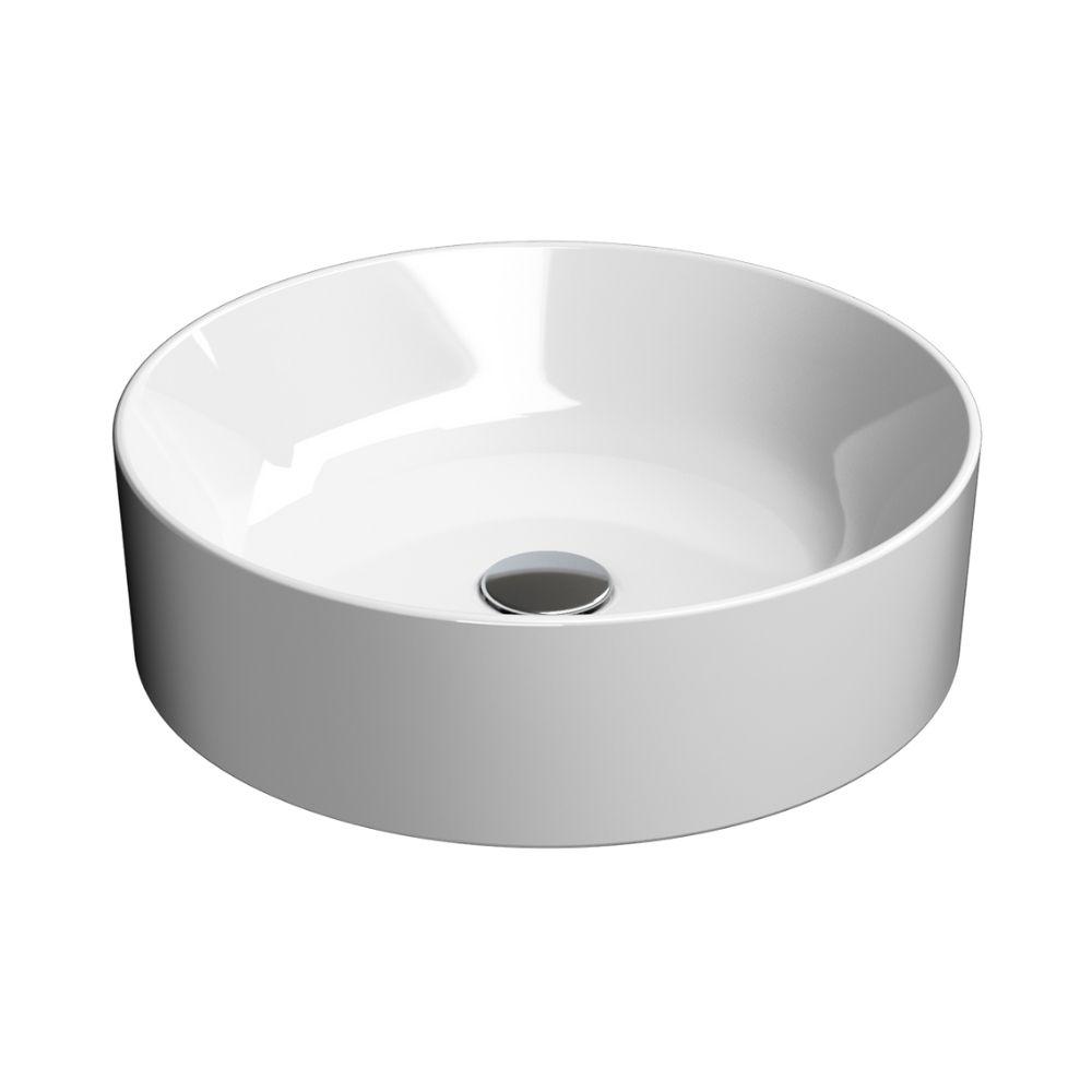Okrugli lavabo Kube X Nadgradni Prečnika 45 cm GSI