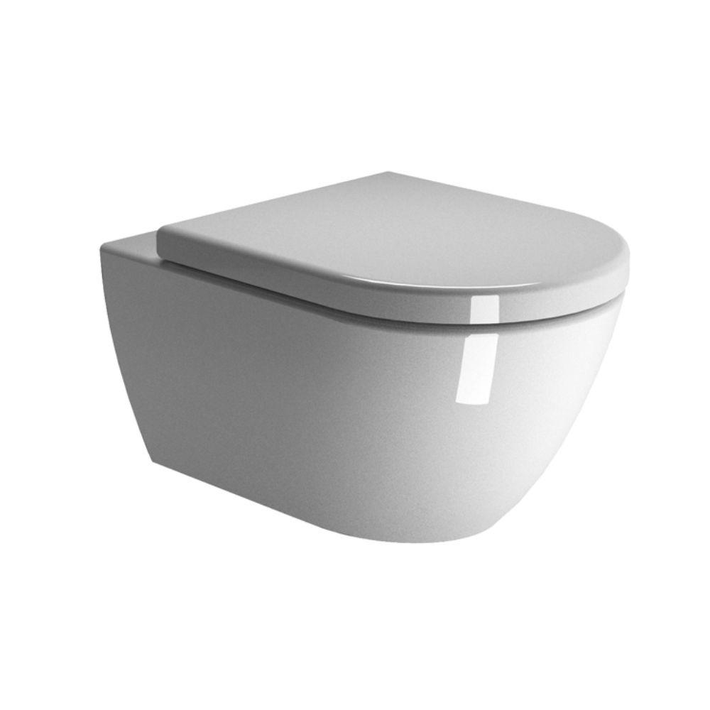 WC šolja Pura, dužine 50 cm, Swirlflush, bela, GSI