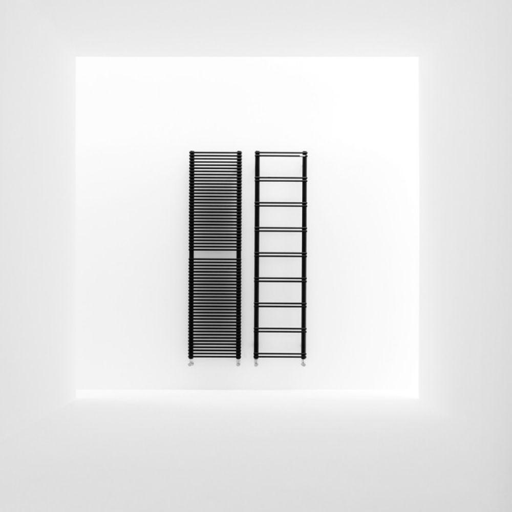 Električni sušač za kupatilo V8, 159×40 cm, crni, Antrax