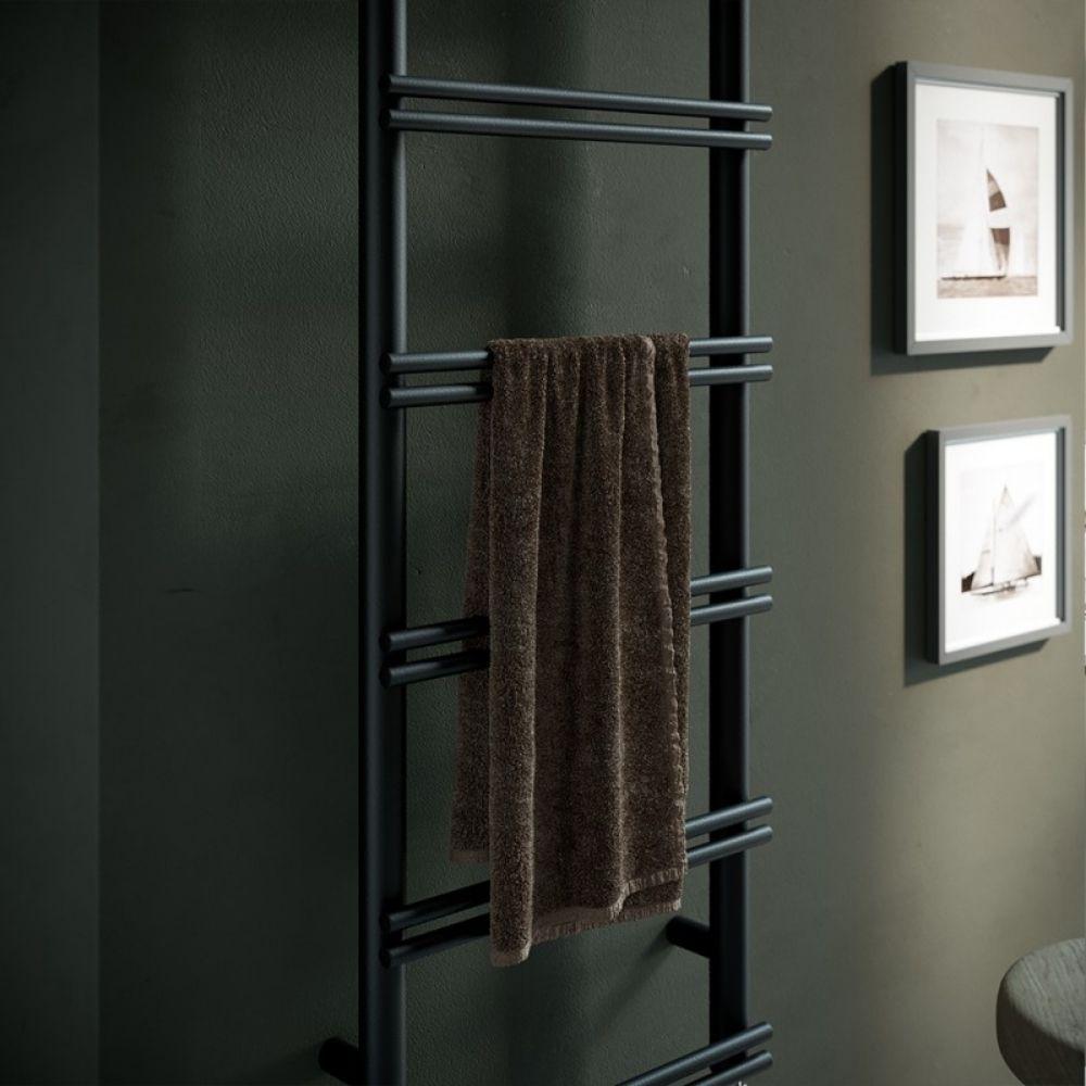 Sušač za kupatilo V8 100×40 cm crni Antrax 1