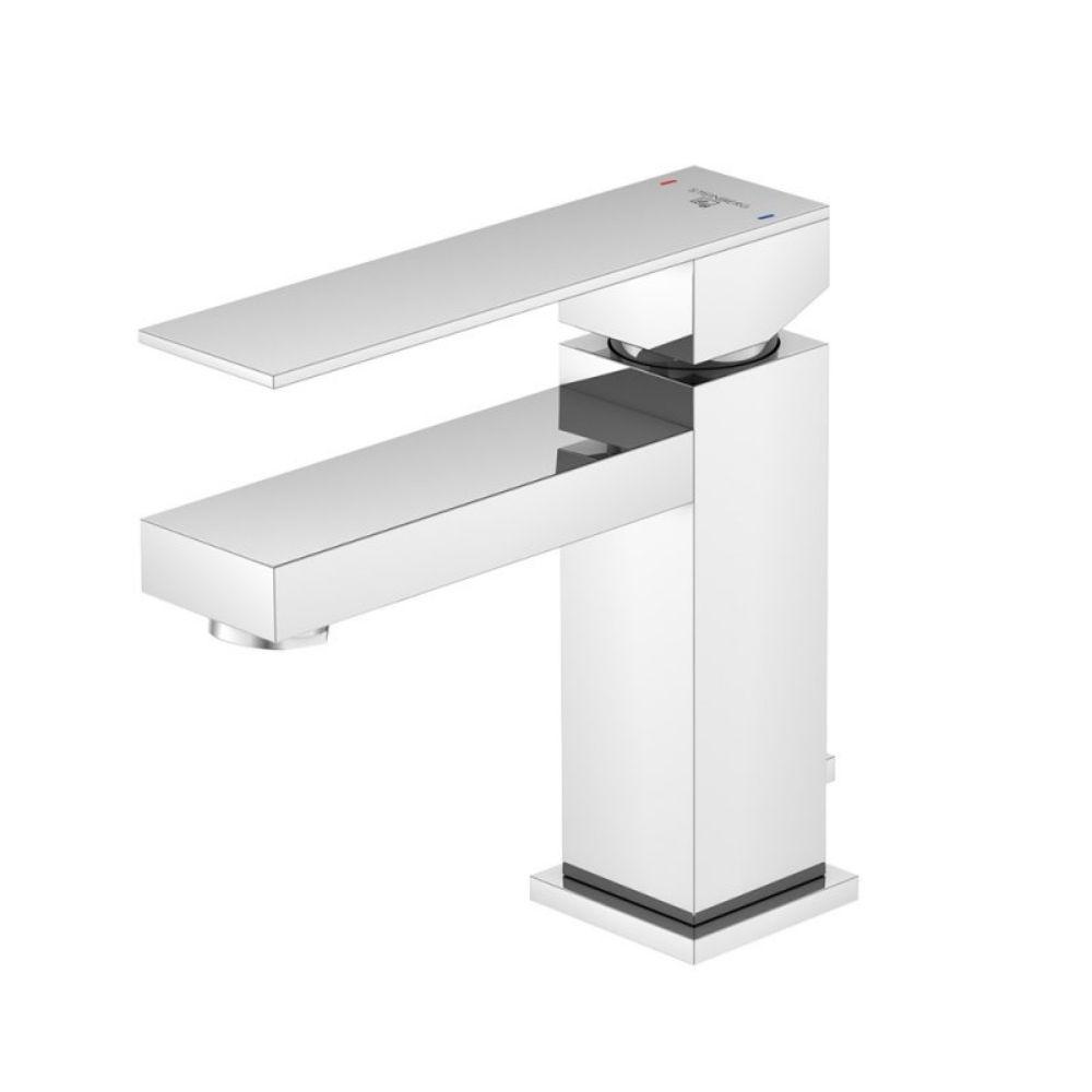 Slavina za lavabo, projekcija 120mm, hrom, sa pop up sifonom, Steinberg