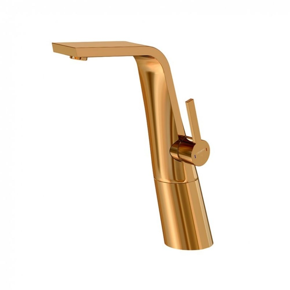 Visoka slavina za lavabo 260, rose gold, Steinberg