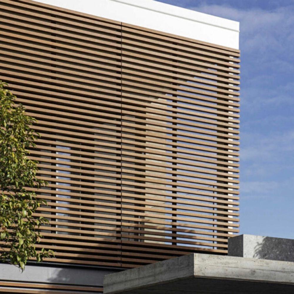 Drvena zaštita od sunca 37×37 Frangisole S Teak, Deco